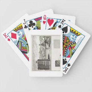 Ayudas del dibujo: un obscura de la cámara y una a barajas de cartas