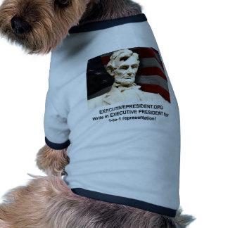 Ayude a apoyar y a promover nuestra campaña camisetas de perro