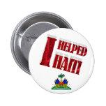 Ayudé a Haití Pin