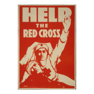 Ayude a la Cruz Roja 1917 Posters