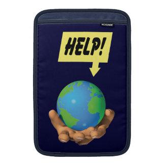 Ayude a la tierra funda macbook air