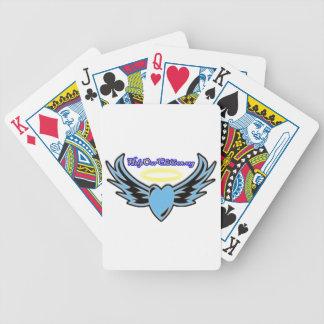 Ayude a nuestros naipes de los niños barajas de cartas