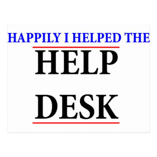Ayudé al puesto de informaciones tarjetas postales