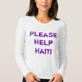 ¡AYUDE POR FAVOR A HAITÍ! PLAYERA