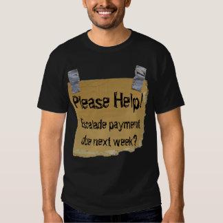 Ayude por favor a la camiseta poleras
