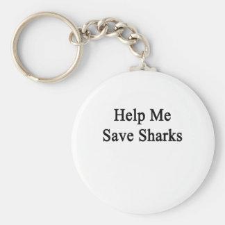 Ayúdeme a ahorrar tiburones llaveros