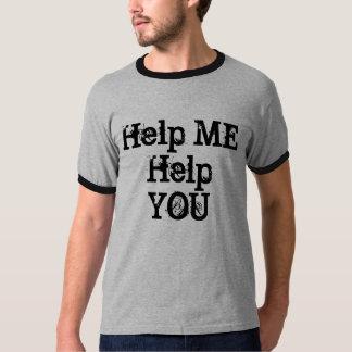 Ayúdeme a ayudarle remeras