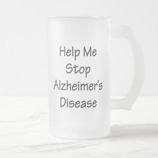 Ayúdeme a parar la enfermedad de Alzheimer Tazas