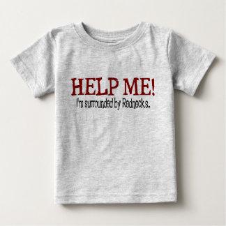¡Ayúdeme! Camiseta del niño del campesino sureño