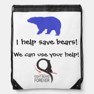 Ayudo a ahorrar osos mochilas