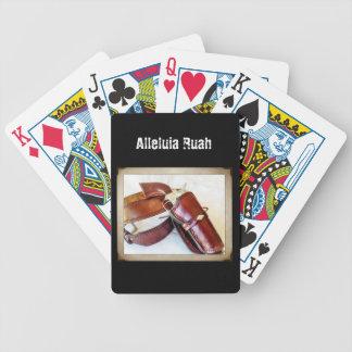 Ayunan los naipes del Gunslinger del drenaje alias Baraja Cartas De Poker