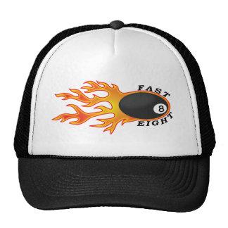 Ayunan ocho casquillos gorras