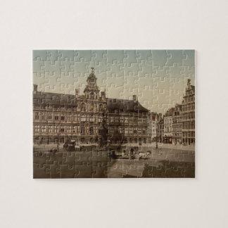 Ayuntamiento, Amberes, Bélgica Amberes Puzzle