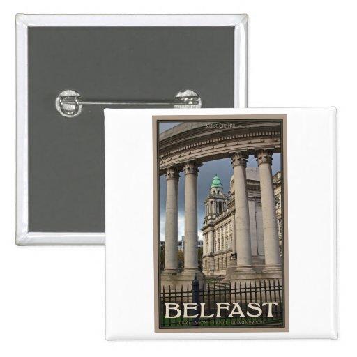 Ayuntamiento Belfast Pins