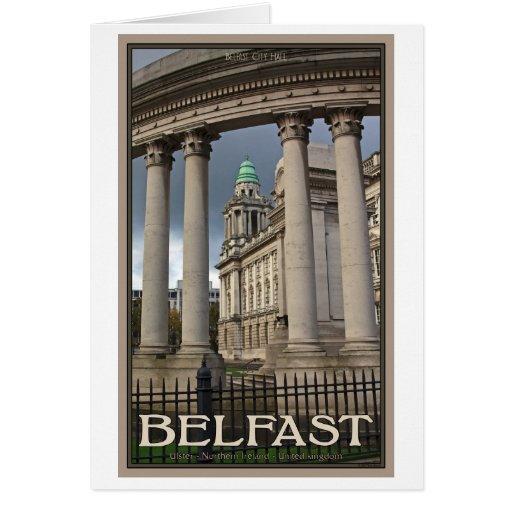 Ayuntamiento Belfast Tarjeton