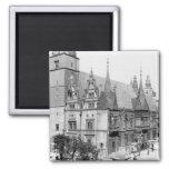 Ayuntamiento, Breslau Polonia, c.1910 Imán Cuadrado