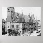 Ayuntamiento, Breslau Polonia, c.1910 Póster