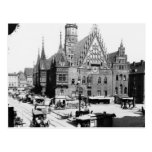 Ayuntamiento, Breslau Polonia, c.1910 Tarjeta Postal