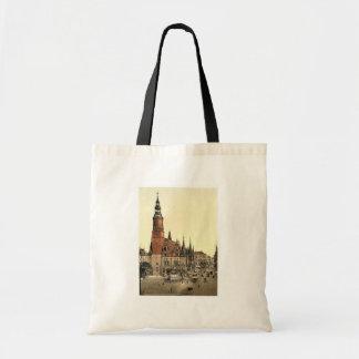 Ayuntamiento, Breslau, Silesia, Alemania (es decir Bolsas De Mano