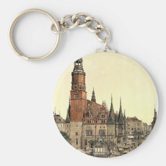 Ayuntamiento, Breslau, Silesia, Alemania (es decir Llavero Personalizado