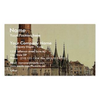 Ayuntamiento, Breslau, Silesia, Alemania (es decir Tarjetas Personales