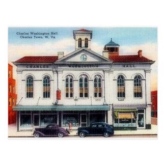 Ayuntamiento, ciudad de Charles, WV Charles Postales