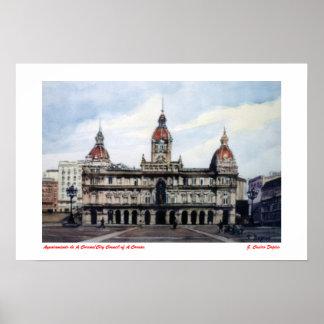 Ayuntamiento de A Coruña/City Council of A Coruña Póster