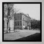 Ayuntamiento de Charleston, SC 1865 Impresiones