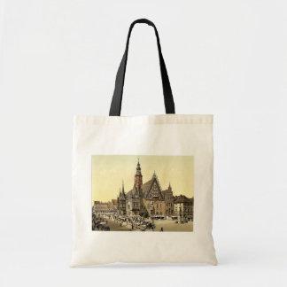 Ayuntamiento del este, Breslau, Silesia, Alemania Bolsa