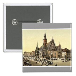 Ayuntamiento del este, Breslau, Silesia, Alemania Pins