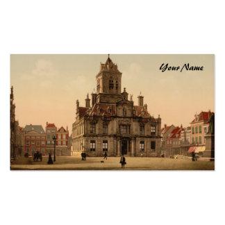 Ayuntamiento, Delft, Países Bajos Tarjetas De Visita