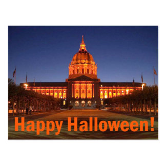 Ayuntamiento Halloween Postal