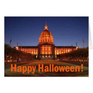 Ayuntamiento Halloween Tarjetas