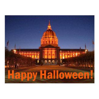 Ayuntamiento Halloween Tarjetas Postales