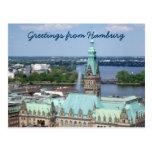 Ayuntamiento Hamburgo Postales