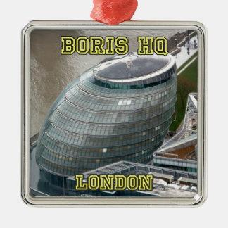 Ayuntamiento Londres el HQ de Boris Ornamento De Reyes Magos