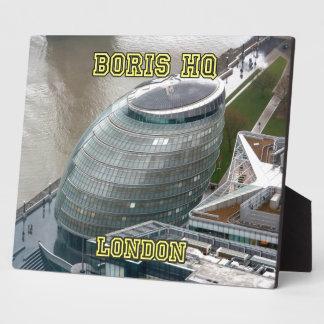 Ayuntamiento Londres el HQ de Boris Placas De Plastico