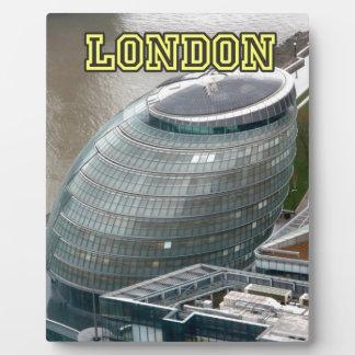 Ayuntamiento Londres Inglaterra Placas De Madera