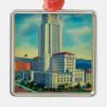 Ayuntamiento Los Ángeles Ornaments Para Arbol De Navidad