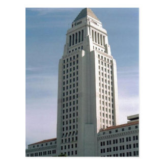 Ayuntamiento Los Ángeles Tarjeta Postal