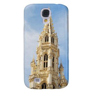 ayuntamiento medieval en Bruselas Funda Para Galaxy S4