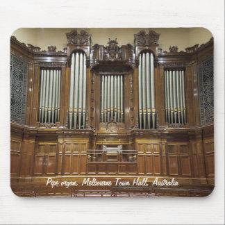 Ayuntamiento, mousepad del órgano de Melbourne Aus
