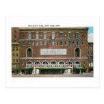 Ayuntamiento, New York City Postales
