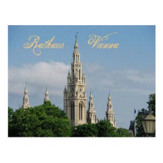 Ayuntamiento (Rathaus) de Viena (Wien), Austria Tarjetas Postales