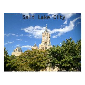 Ayuntamiento - Salt Lake City Tarjeta Postal