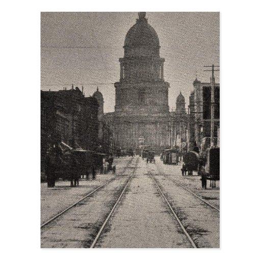 Ayuntamiento San Francisco a partir del 8va St Tarjetas Postales