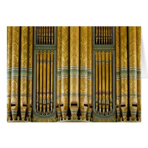Ayuntamiento, tarjeta Birmingham del órgano de