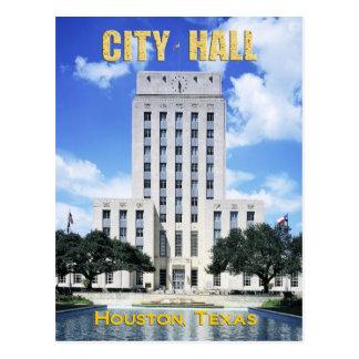 Ayuntamiento, Tejas Houston Tarjetas Postales