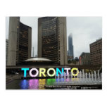 Ayuntamiento Toronto con la muestra de Pan Am por Tarjetas Postales
