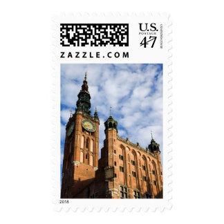 Ayuntamiento viejo en Gdansk Timbres Postales